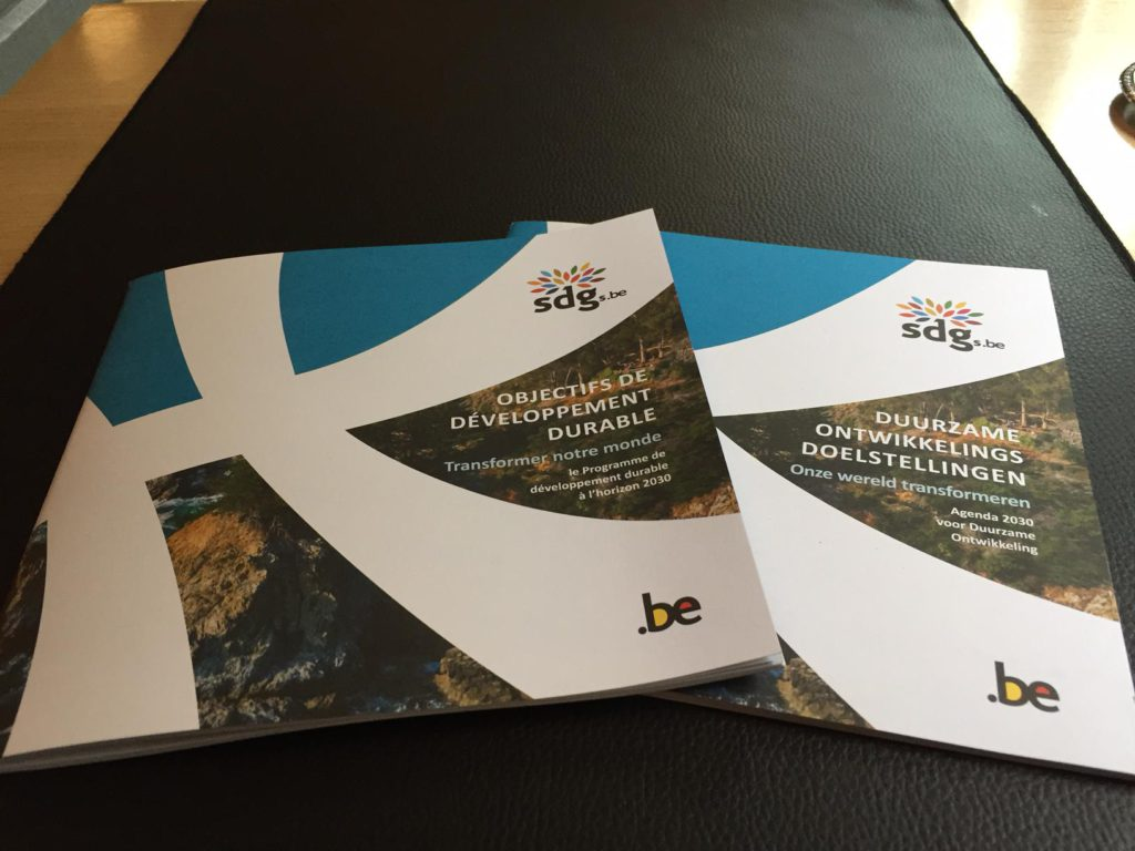 Brochure van FIDO rond SDG's